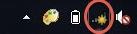Icona del segnale Wi-Fi su Windows 7