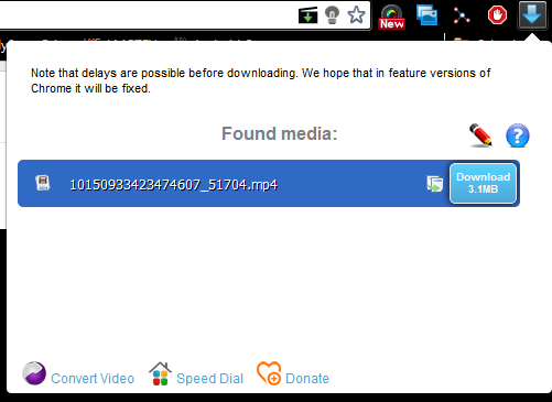 Immagine dell'estensione di Chrome FVD Video Downloader