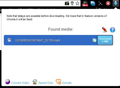Immagine dell'estensione di Chrome FVD Video Downloader