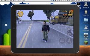 Immagine dell'app Reflection per registrare lo schermo