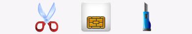 Tagliare una SIM per ricavare una Micro-SIM