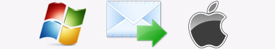 Come trasferire le email da Windows a Mac