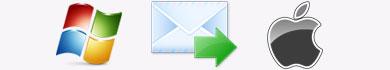 Come trasferire le email da Windows a Mac