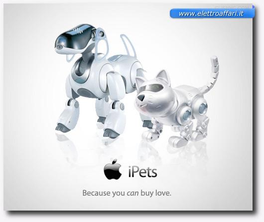 Immagine degli iPets della Apple