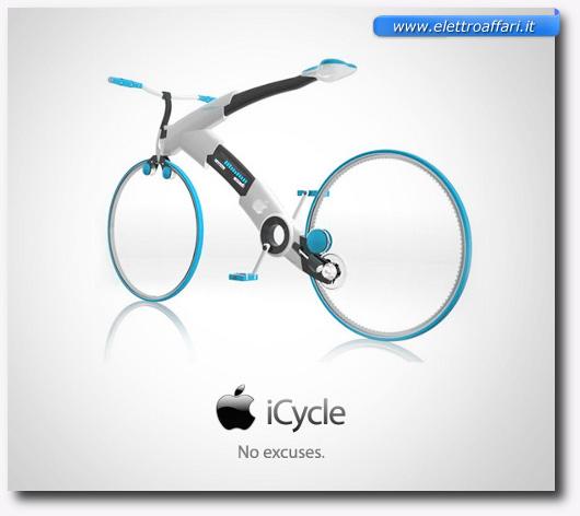 Immagine dell'iCycle della Apple