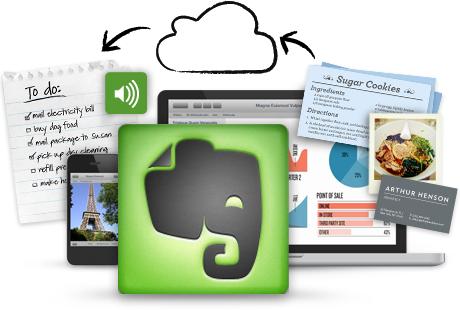 Immagine del software Evernote