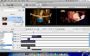 Interfaccia grafica del programma VideoLan Movie Creator