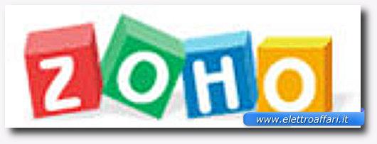 Immagine del software Zoho Office