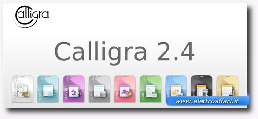 Immagine del software Calligra