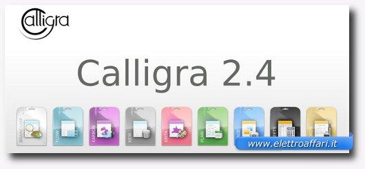 Immagine del software Calligra