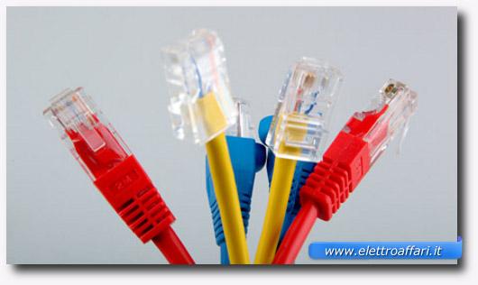 Immagine del cavo Ethernet