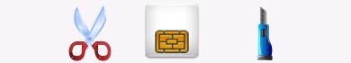 Come tagliare una Micro-SIM per ricavare una Nano-SIM