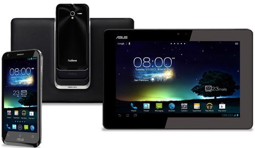 Immagine del tablet ASUS Padfone 2