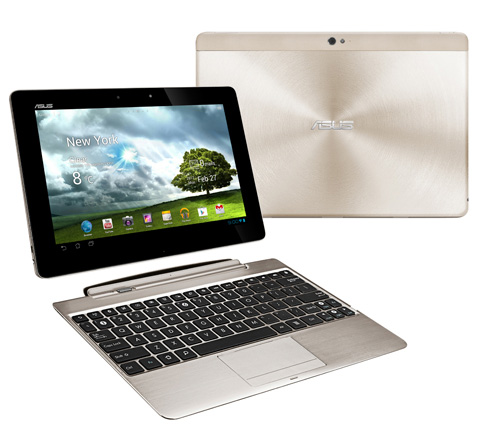 Immagine del tablet ASUS Transformer Pad Infinity