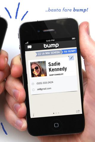 Immagine dell'applicazione Bump