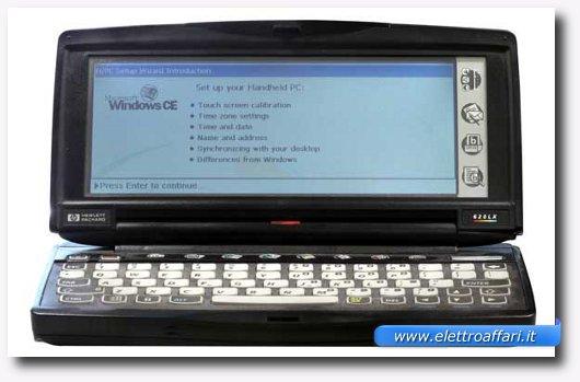 Immagine di un Palmtop