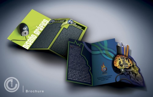 Immagine della brochure Disegno grafico