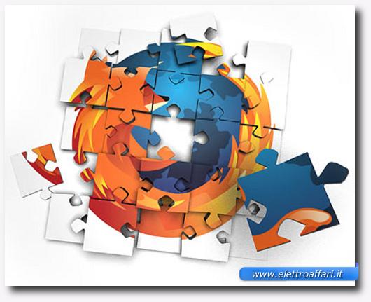 Immagine sui plugins per Mozilla Firefox