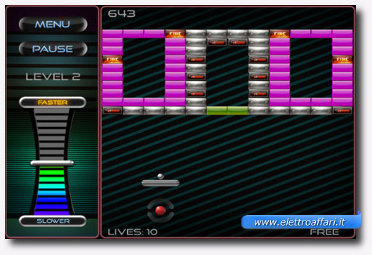 Immagine del gioco Breakout: Boost per iPhone