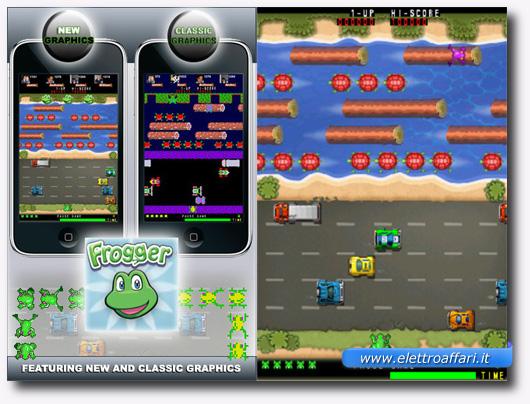 Immagine del videogioco Frogger Free per iPhone