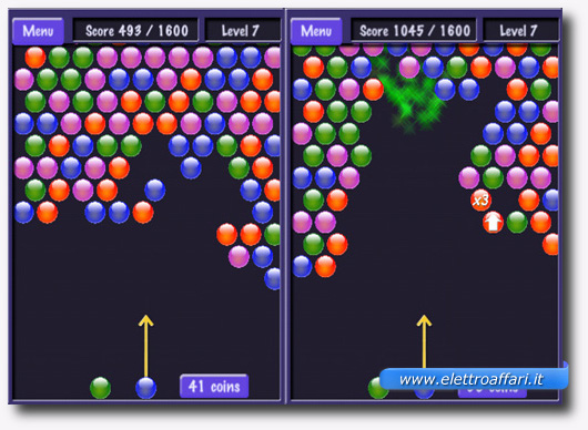 Immagine del gioco Bubble Shooter – Totally Addictive per iPhone