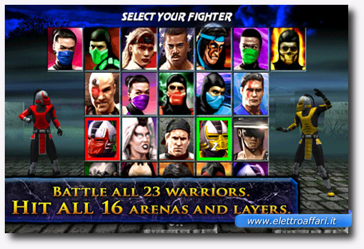 Immagine del gioco Ultimate Mortal Kombat 3 per iPhone
