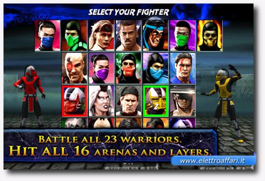Immagine del gioco Ultimate Mortal Kombat 3 per iPhone