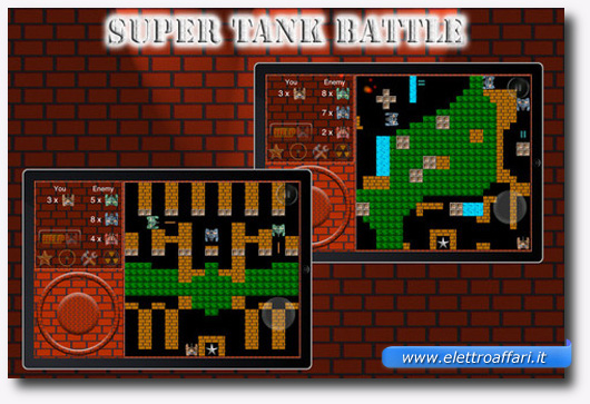 Immagine del gioco Super Tank Battle per iPhone