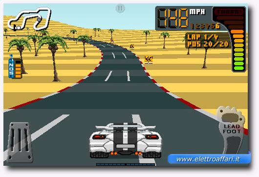 Immagine del gioco 8 Bit Rally per iPhone