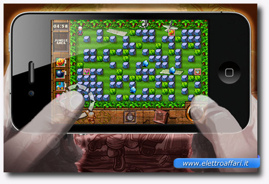 Immagine del gioco Bomberman Touch – The Legend Of Mystic Bomb per iPhone