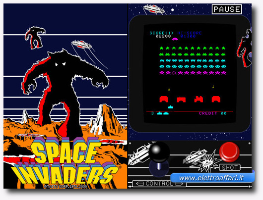 Immagine del gioco Space Invaders per iPhone