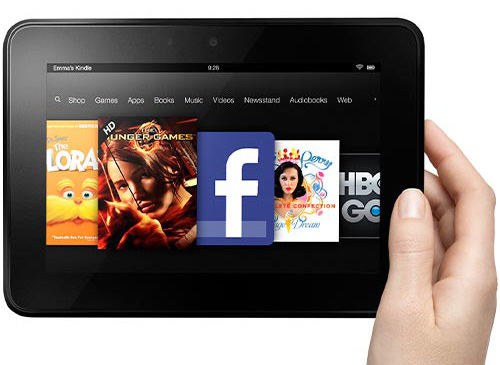 Immagine del tablet Kindle Fire HD