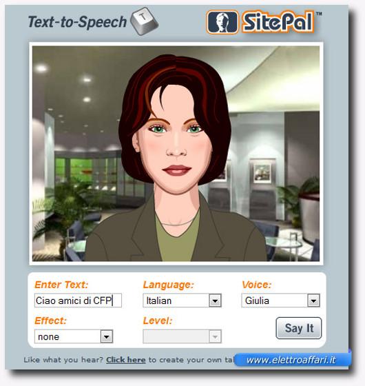 Immagine del sito del software OddCast