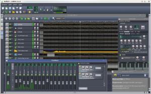 Interfaccia del programma Linux Multimedia Studio