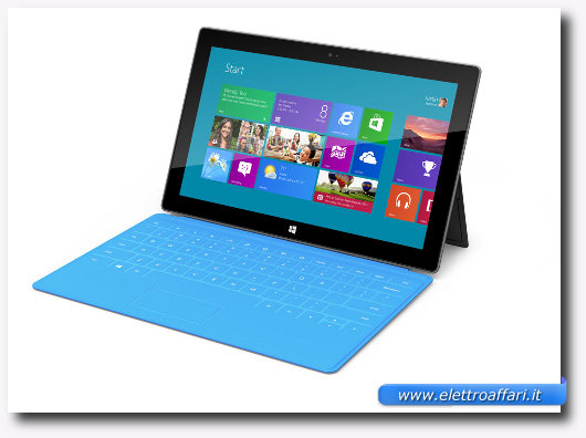 Immagine di Surface di Microsoft