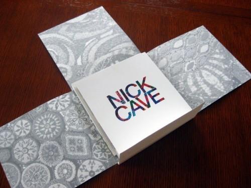Immagine della brochure Nick Cave
