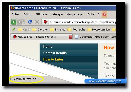 Immagine del plugin Close'n Forget per Firefox