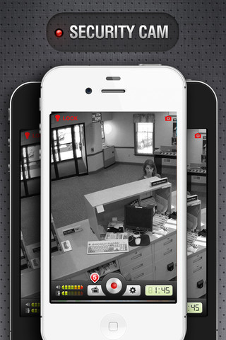 Immagine dell'applicazione Security Cam per iPhone