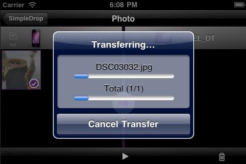 Immagine dell'applicazione SimpleDrop
