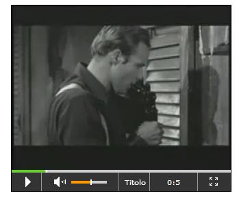 Immagine del Player Video HTML5
