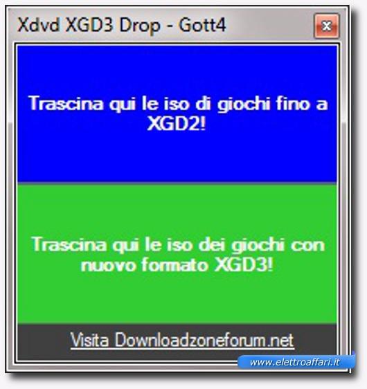 Immagine del programma Xdvd