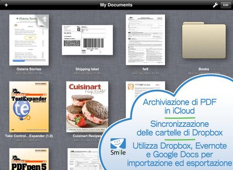 Immagine dell'applicazione PDFpen