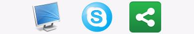 Condividere lo schermo del PC con Skype