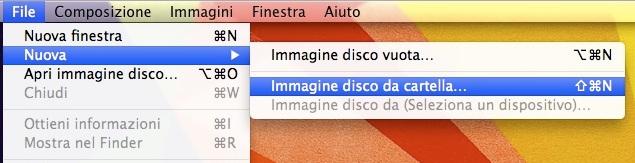 Utilizzo dell'Utility Disco sul Mac