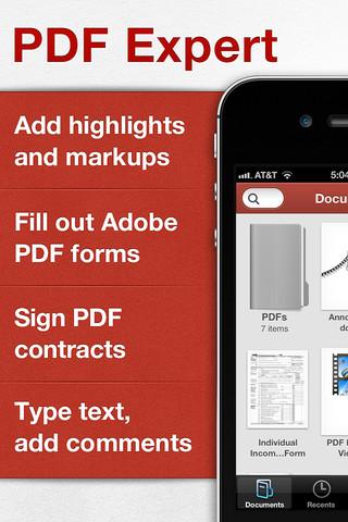 Immagine dell'applicazione PDFExpert