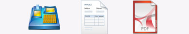 Modello di fattura da compilare online e stampare o scaricare in PDF