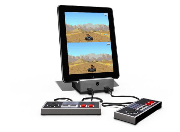 Immagine del dispositivo GameDock per giocare con l'iPad
