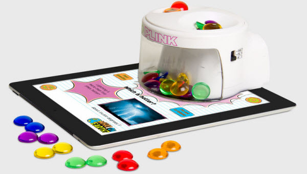 Immagine del dispositivo Plink per giocare con l'iPad