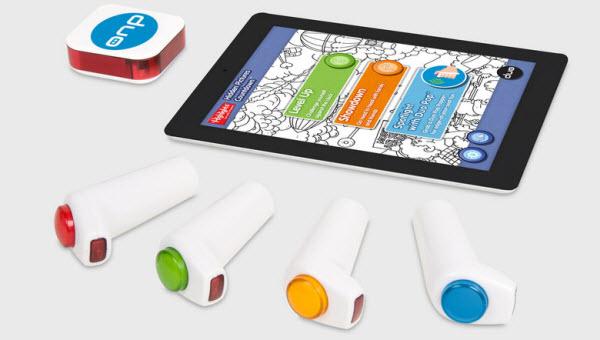 Immagine del dispositivo Pop per giocare con l'iPad