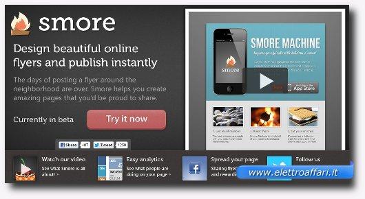 Immagine del sito Smore